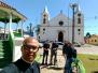 Equipe da TV Evangelizar na Diocese de Jacarezinho.