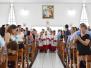 Instituição da Paróquia Nossa Senhora Aparecida.